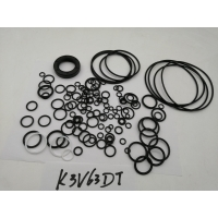 Wholesale Hydraulic K3V63DT PTFE Pump Seal Kit For SK120-1 SK120-2 Excavator from china suppliers