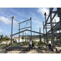 Wholesale 2 Floor Steel Framed Buildings Warehouse Steel Structure With Alkyd Grey Paint in Maldive from china suppliers