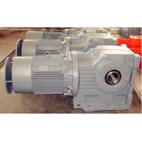 Wholesale K Series Helical Bevel Gear Reducer With Motor for sugar cane from china suppliers
