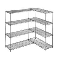 Wholesale Heavy Duty Chrome Steel Industrial Wire Shelving 4 - Layers For Medicine Storage from china suppliers
