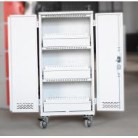 Wholesale White Mobile Charging Cart Steel Material 60 Units Laptop Charging Cart from china suppliers