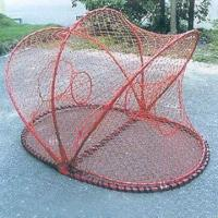 Wholesale Fishing Coops with PE and Nylon Net from china suppliers