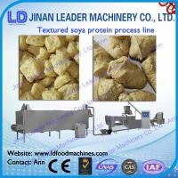 Wholesale Stainless steel textured tvp tsp soya bean protein food machine from china suppliers