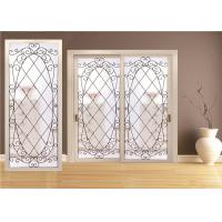Wholesale Double Pane Sliding Glass DoorHollow Stained Glass Panels Air / Argon Insulating from china suppliers