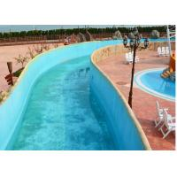 Outdoor Water Park Swimming Pool Lazy River With Wave Making Machine Of Item 102008311