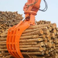 Wholesale High Efficiency Rotating Log Grab , Hydraulic Rock Grab For Excavators OEM Available from china suppliers