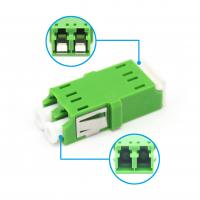 Wholesale LC Duplex Plastic Foptical Cable Adapter Single Mode LC/APC To LC/APC Low Insertion Loss from china suppliers
