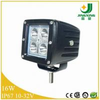 China China auto lighting factory supply 16w 12V led spot light 4x4 led work light cheap price on sale