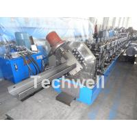 Wholesale C Purlin Cold Roll Forming Machine With 18 Main Roller Stations For Thickness 1.5-3.0mm TW-C300 from china suppliers