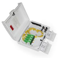 Wholesale Flame Retardant Drop Cable Box Outdoor Fiber Termination Box Waterproof Design from china suppliers