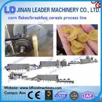 Wholesale Corn flakes breakfast cereals snacks process line snacks food machine from china suppliers