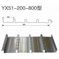 High intensity corrugated metal decking sheet , galvanized steel floor decking sheet 0.7 - 1.4mm Manufactures