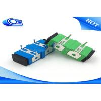 Wholesale Singlemode Fiber Optic Adapter , Fiber Optic Connector Adapters For PCB Board from china suppliers