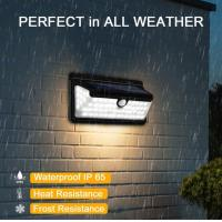 Wholesale 166 LED Wireless Solar Motion Sensor Light Lickering Landscape Garden Lamp from china suppliers