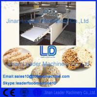 Stainless steel sports nutrition bar food processing and for Food bar packaging machine