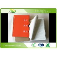 Buy cheap 80 gram PP Hard Cover Spiral Notebook For Stationery Store / Advertising Promotion product