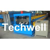 Buy cheap PLC Control Deck Roll Forming Machine For Floor Decking Panel, Metal Decking from wholesalers
