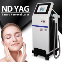 Wholesale Skin Rejuvenation Mobile Tattoo Removal Machine 1064nm 532nm from china suppliers