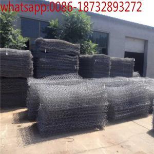Wholesale 8*10 hot dipped galvanized gabion box / stone gabion basket / gabion wire mesh/Heavy Rock Filled Gabion Box from china suppliers