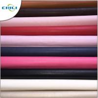 Wholesale Rexine Car Seats PU Leather Fabric 0.3±0.1mm Thickness Fashionable from china suppliers