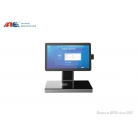 Buy cheap RFID Tagged Books Borrow / Return Self Service Kiosk Built In RFID Reader For from wholesalers