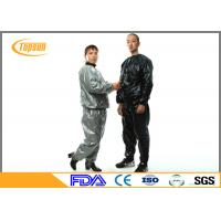 Wholesale Multi Color PVC Disposable Sauna Suit Full Body For Lady / Man Lose Weight from china suppliers