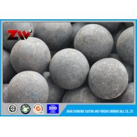 Wholesale Good Wear Resistant steel grinding balls , forging and casting ball milling media from china suppliers