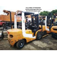 Wholesale secondhand cheap Used 3 ton forklift TCM FD30 diesel forklift from china suppliers