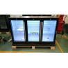 320L Triple Sliding Doors Back Bar Beer Cooler with LG Compressor Bar Refrigeration Equipment Manufactures