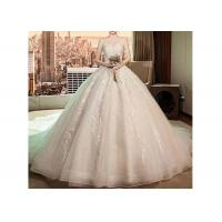 Wholesale Luxury Long Tail Bridal Gown Lace Sweetheart Breast Wedding Dress from china suppliers