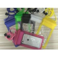 Wholesale Waterproof Case for iPhone 7 Plus, 7, 6, 6 Plus, 6s,5s,Andriod; PVC material waterproof phone case from china suppliers