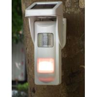 Outdoor Solar  Alarm Motion Detectors With Sound & Light Alert For Park Fire Fighting