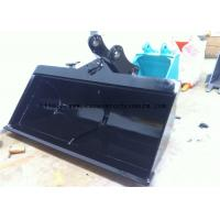 Wholesale HARDOX400 Mini Excavator Grading Bucket To Unload Coal 0.4-3m3 Capacity from china suppliers