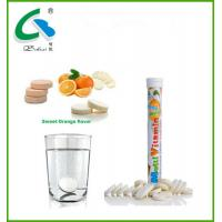 China high quality  effervescent multivitamin tablet with GMP certificates on sale