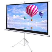 Wholesale Portable Fast Folding Tripod Stand Projector Screen from china suppliers