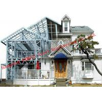 China Customized Light Steel Villa Design And Fabrication Based On Various Standards on sale