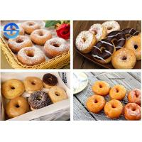 Wholesale Fully Automatic Donut Fryer , Commercial Donut Ball Machine For Dessert Shop from china suppliers