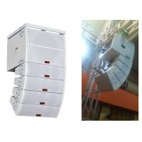 Wholesale White Plywood Disco Sound Equipment  2 way Double Small Line Array Speaker from china suppliers