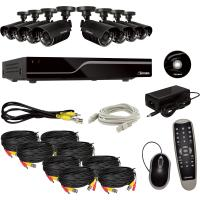 China 8 Channel DVR Surveillance System Support Mobile With Motion Detetion on sale