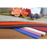Wholesale 100 Percent Soft Colored Wool Felt Sheets For Felt Hat ,Shoes, Boots from china suppliers