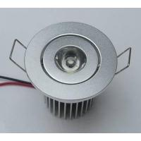 Wholesale Hotel 3W Recessed LED Downlight 60 Degree , Epistar Led Downlighting from china suppliers