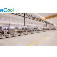 Size Customized Frozen Food Storage Warehouses , PU Panel Air Cooler Cold Storage