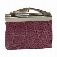 Wholesale Fashionable Coin Purse with Metal Clasp, Various Colors are Available from china suppliers
