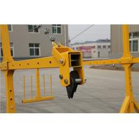 Quality 6M Professional Suspended Access Platforms With Anti Till Device for sale