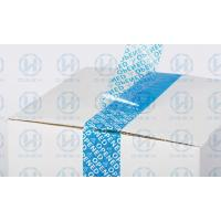 Wholesale VOID Tamper Seal Tape For Carton Sealing , Protecting Your Valued Goods During Shipment from china suppliers
