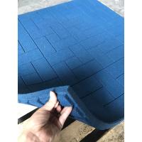 China Non Slip Outdoor Rubber Mats Wear Resistant Tiles For Universities Stadium on sale