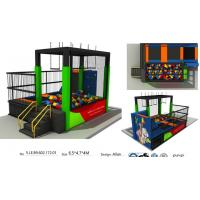 Buy cheap 30M2 Best China Factory Supply Trampoline Park Amusement Indoor Trampoline Park from wholesalers