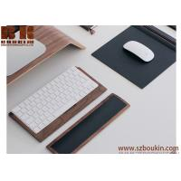 Wholesale Comfortable to use thoughtful design wooden touchpad diy wooden mouse pad/ pads from china suppliers