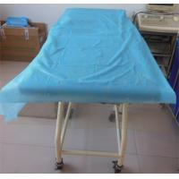 Wholesale Blue Disposable Bed Covers , Disposable Mattress Protector PP Non Woven Material from china suppliers