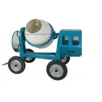 Mini Cement Mixer Rated Overload Concrete Mixer for Cast Iron CogWheel and Rubber Wheels for sale